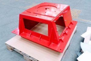powder coated fabrication