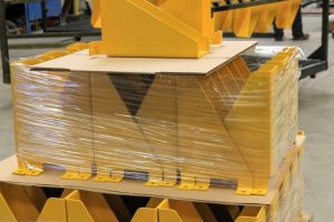 powder coated pressbrake bend profiles